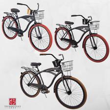 NEW 26 Nel Lusso vintage Mens Cruiser Bike Black Beach Bicycle Krayton New