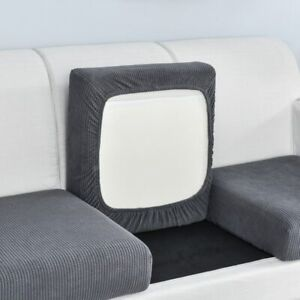 Sofa Seat Cover Sofa Slipcovers Thick Jacquard Solid Soft Stretch Elastic