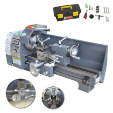 750W Variable-Speed Metal Mini Lathe Bench Including Digital Panel Woodworking