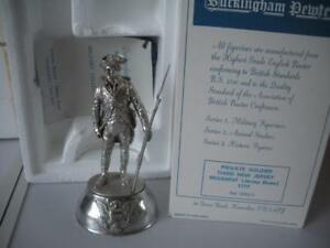Chas Stadden Private 3rd New Jersey Regiment Pewter figure Boxed