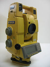 TOPCON GPT-8203A ROBOTIC TOTAL STATION W/ RANGER 200C, ONE MONTH WARRANTY