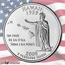 2008 P Hawaii U.S. State Quarter (Uncirculated) Single Coin