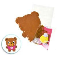Teddy Bear Felt Friend Crafting Kit, 5-Inch