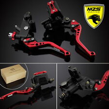 MZS Brake Clutch Levers Master Cylinder Reservoir For Kawasaki ZX6R/ZX7R/ZX10R