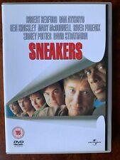 Sneakers DVD 1991 Crime Caper Movie w/ Robert Redford Dan Aykroyd