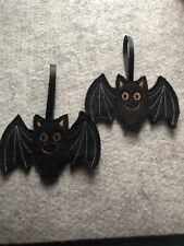 Handmade  Halloween  Hanging Decoration,  Gingerbread Bat