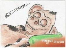 Fireball XL5 Gerry Anderson Sketch Card drawn by Marc Ducrow