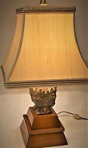 Marbro Brass Buddha Table Lamp 1960s Mid Century Modern Vintage MCM Rare