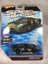 Hot Wheels Speed Machine Green Jaguar XJ220