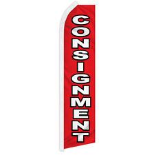 Consignment Swooper Flag Advertising Flag Feather Flag Pawn Shop Casa De Empeno