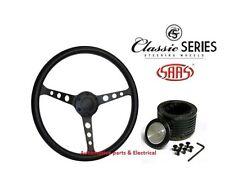 HOLDEN HQ HJ HZ HX SAAS Classic Polyurethane Steering Wheel 15inch & Boss Kit