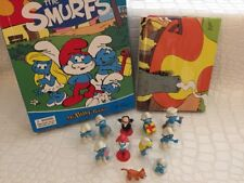 Smurfs My Busy Book Storybook + 11 Character Figurines & Playmat - Cake Toppers