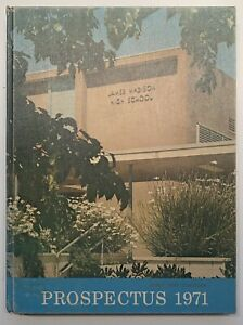 1971 JAMES MADISON HIGH SCHOOL YEARBOOK, THE PROSPECTUS, SAN DIEGO, CA