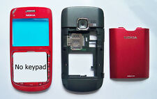 Housing Cover Facia Fascia Faceplate for nokia C3 with keypad Red Case C3
