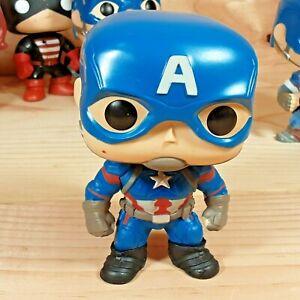 Captain America Civil War #125 Marvel Comics Funko Pop Vinyl Figure No Box