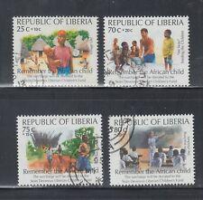 Liberia # B2 USED Complete 1994 Semi Postal Issue