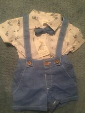 Gymboree Baby Boy 0-3m Peter Rabbit 3 Piece Outfit NWT Free Shipping