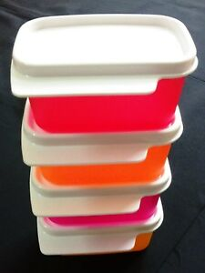Tupperware - KEEP TAB EXTRA MINI -160ml - with WHITE lids - VERY USEFUL PRODUCT