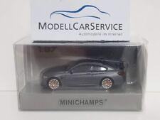 1 87 Minichamps BMW M4 GTS 2016 Matt-grey/orange