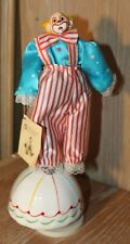 "Vintage 70's Victoria Collectibles Musical ""Send In The Clowns"" Porcelain Clown"