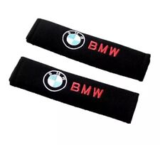 Coppia Copri Cintura di Sicurezza logo BMW serie 1 2 3 4 5 6 7 x5 x3 z coupe