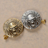 Solid Brass Leather Craft Rivet Screw Decor Hardware Gold Silver