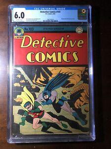Detective Comics #103 (1945) - Batman! Robin! - CGC 6.0 - Golden Age!