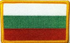 Bulgaria Flag Embroidered Iron-On Patch Military ARMY Bulgarian Emblem Gold