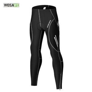 Men's Cycling Bike Pants Bottoms Breathable Mountain Bike MTB Padded Trousers