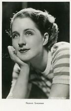 NORMA SHEARER VINTAGE PHOTO POSTCARD CP 30s