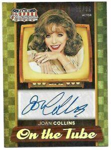 2015 Panini Americana Joan Collins (#VS-JC) Vintage Signatures Autograph #38/99!