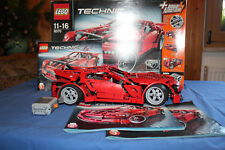 LEGO Technic SUPER CAR 8070 OVP & BA & Power Functions