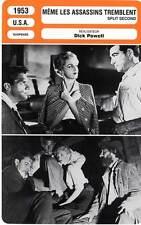 FICHE CINEMA : MEME LES ASSASSINS TREMBLENT - McNally,Powell 1953 Split Second
