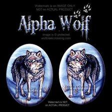 Alpha Wolf Earrings - Wildlife Art Wolves Jewelry Post Stud Pierced Free Ship
