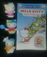 Hello Kitty LOT of 3 toys and 1 comic book WOW GREAT FOR ANY TRUE COLLECTOR cool