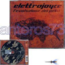 """ELETTROJOYCE """"L'EVOLUZIONE DEI PESCI"""" RARO CDsingolo 2000 + REMIX - SIGILLATO"""