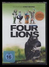 DVD FOUR LIONS (4) - EINE SCHWARZE ENGLISCHE KOMÖDIE - DSCHIHAD IN ENGLAND * NEU