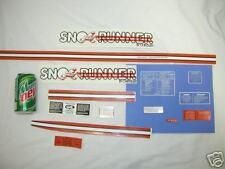 Chrysler snorunner Sticker kit sno runner snow rabbit