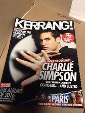 Kerrang 1597-Foo Fighters-Charlie Simpson- Albums Of 2016- December 5 2015