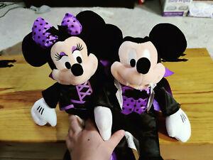 2016 Disney Mickey And Minnie Mouse Halloween Plush
