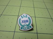 TCG Theatre Communications Group RARE $50 Million 97 Lapel pin Pinback Cloisonne