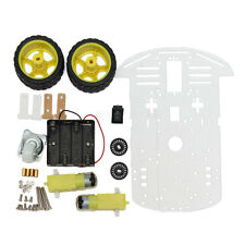 2WD Smart Motor Robot Car Chassis Battery Box Kit Speed Encoder for Arduin I6M3