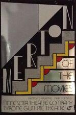 1968 LICHTENSTEIN Silkscreen Poster MERTON of the MOVIES Guthrie Theatre RARE!