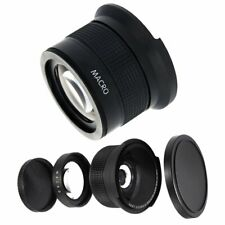 58MM 0.43x Wide Angle Lens + Macro Lens for Cannon 500D 1000D 550D 600D 18-55MM