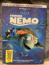 Disney Pixar Finding Nemo (Dvd, 2003, 2-Disc Set) Brand New Collectors Edition