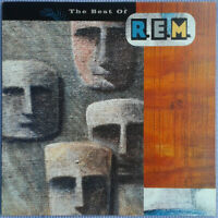 R.E.M. ‎– The Best Of [ Vinyl Greek Press 1991 Compilation Alternative Rock ]