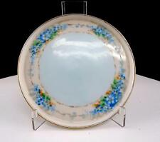 "NIPPON RISING SUN BLUE FORGET ME NOTS & BLUE CENTER 5 3/8"" PIN DISH 1911"