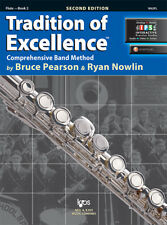 Tradition of Excellence: Flute Book 2 - Book/Online Media W62FL