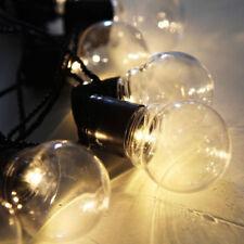 Party Lichterkette Glühbirnen Girlande Batteriebetrieben Deko Leuchte Lichter