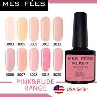 Pink Rude Range Colors Nail Gel Polish Soak Off Shiny UV/LED Lamp Salon Nail Art